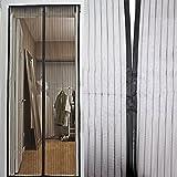Fliegengitter Moskitonetz Insektenschutz durchgehende Magnetverschlüsse 100 x 220 cm