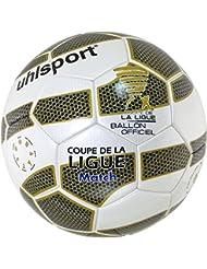 Balón Uhlsport Tenor Match, color Blanco - Blanc/Or/Noir/Bleu, tamaño 5