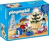 PLAYMOBIL 9495 Spielzeug-Weihnachtliches Wohnzimmer, Unisex-Kinder