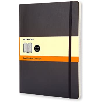 Moleskine Soft Extra Large Ruled Notebook (19 x 25cm)
