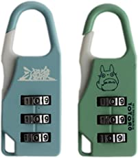 Tootpado Number Lock for Bags - Pack of 2 (CLNT11) - Combination Padlock