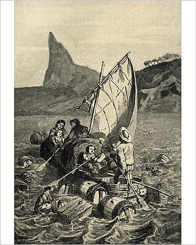 photographic-print-of-the-swiss-family-robinson-litho