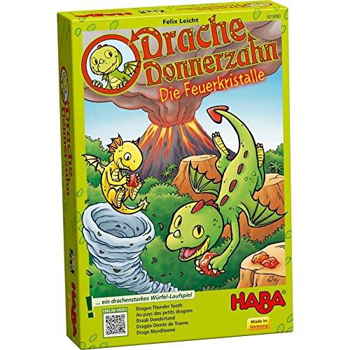 """HABA 301890 - """"Drache Donnerzahn"""" Spiel"""