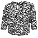 Mexx MX3002331 Jacken Damen Schwarz/Weiss - DE 38 (EU 40) - Jacken/Blazers