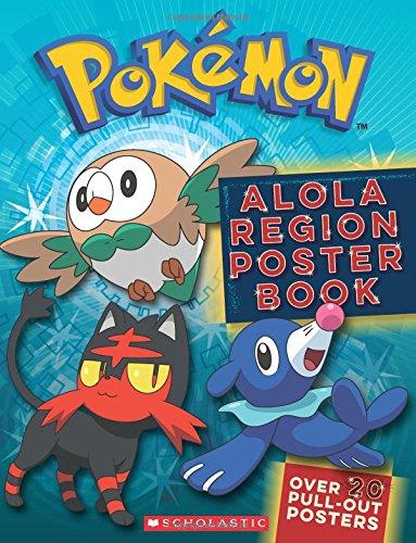 Pokemon: Alola Region Poster Book