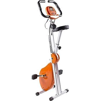 Bicicleta Estática Plegable CrossFit con Chasis Reforzado de Doble Cuerpo   Hasta 110Kg   Máximo Ahorro de Espacio   Display LCD   Liquidación Últimas Unidades Deportes
