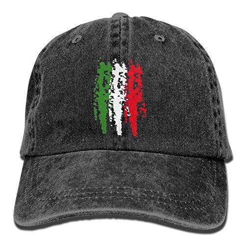 Italia Italy Italian Flag Mens&womens Vintage Style Classic Sandwich Cap Baseball Cap (Baby Kostüme Am Ziel)