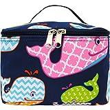 Sea Summer Whale Print NGIL Cosmetic Case