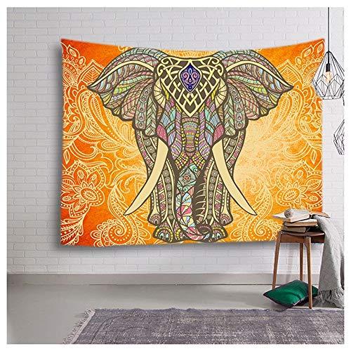 Jiudou Tapisserie Südostasiatische Elefantentapisserie Innenschlafzimmerzwischenwandmalerei-Kunstphotographie-Hintergrunddekorativer Stoff -