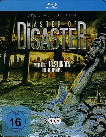 Master of Disaster Collection (9 Films) - 3-Disc Set ( The Land That Time Forgot / Princess of Mars / 100 Million BC / 2012: Supernova / Meteor Apocalypse / 2012 Doomsday / The Day [ Origine Allemande, Sans Langue Francaise ] (Blu-Ray)
