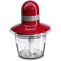 Bosch Electroménager MMR08R2 Hachoir, 400 W, 0.8 liters, Rouge