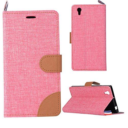 G5-laufwerke (Lenovo P70 Hülle,Lenovo P70 Case,Cozy Hut PU Leder Wallet Case Schutzhülle für Lenovo P70 Flip Tasche Handyhüll Ledertasche Hüll Cover Standfunktion Karte Slot(Cowboy in rosa) - rosa)
