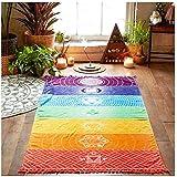 Sannysis Toallas de playa, Indian Mandala Beach Towel, kimono Túnica, 148cm x 210cm (75cm*150cm)