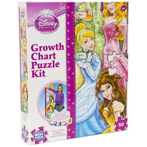 Disney 50 Piece Disney Princess Growth Chart Puzzle