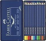 FABER CASTELL 114212 Aquarellfarbstiftetui 12er set