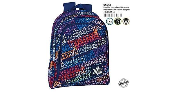 Multicolour Montichelvo Kindergarten Trolley Nl Warrior Travel Tote 28 cm