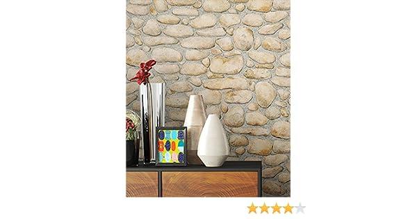 NEWROOM pietra carta da parati beige fliselina Natur Stein Stein bella ottica 3D moderna e nobile design moderno e nobile ottica 3D inclusivi Guida alla tappezzeria