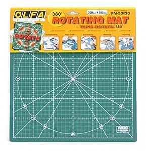 OLFA Rotating Cutting Mat 30x30cm by Olfa