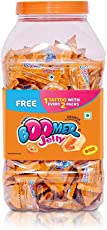Wrigley Boomer Jot, Orange (184 + 8 Pieces Free)