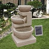 Solarspringbrunnen Solarbrunnen Eden Garten Brunnen...