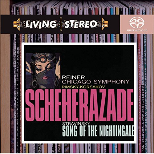 Living Stereo: Rimsky-Korsakov: Scheherazade / Stravinsky: Song of the Nightingale Red Stereo
