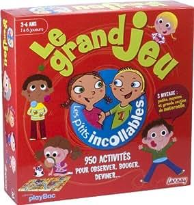 lansay 74939 jeu de soci t les petits incollables le grand jeu jeux et jouets. Black Bedroom Furniture Sets. Home Design Ideas