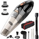 DOFLY Aspirapolvere Portatile Senza Fili Potente 8500PA 120W Ultra Aspirazione Aspirapolvere Leggero Ricaricabile con Luce LE