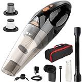 DOFLY Aspirapolvere Portatile Senza Fili Potente 8500PA 120W Ultra Aspirazione Aspirapolvere Leggero Ricaricabile con…