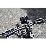 foto-kontor Fahrradhalter für MacTronic Bike Scream Pro BPM170L Halterung Bike Halter Adapter Lenker
