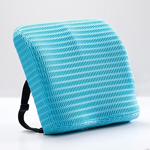 Das Sitzkissen Kissen Büro Memory Unit Back Support Belt zurück Sitzkissen Sitzkissen 40 * 40 * 9 cm, Blau Memory Belt