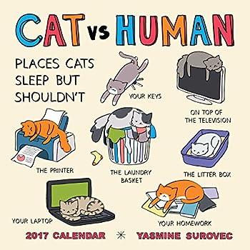 Cat Vs Human 2017 Calendar
