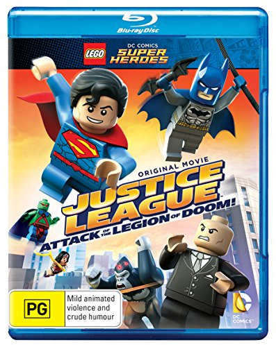 LEGO - LEGO: Justice League: Attack of the Legion of Doom (1 Blu-ray)
