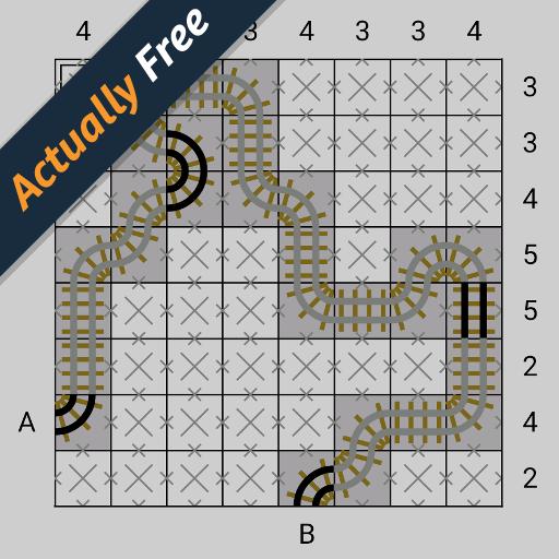 Tracks Puzzle Game (42/100)