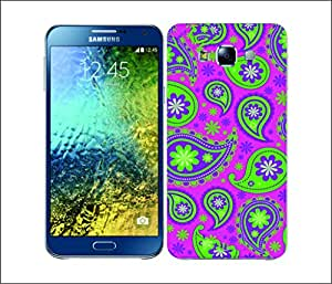 Galaxy Printed 2557 Paisley2 ASTRA Hard Cover for Samsung E7