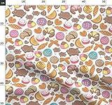 Kawaii, Muscheln, Mexiko, Bäckerei Stoffe - Individuell