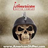 Best Custom Accessories Shift Knobs - American Shifter 33 Mohawk German Helmet Skull Custom Review