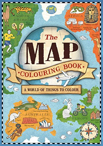 The Map (Map Colouring Books 1) por Vv.Aa
