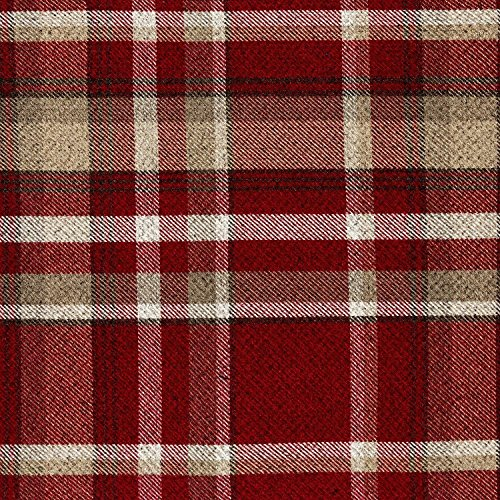 McAlister Textiles Heritage | Stoff im Tartan-Muster kariert in Rot 140cm Breite | per Meter | Textil Material -
