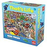 Goliath - 2076942 - That's Life Puzzle - Trafic Chaos - 1000 Pièces