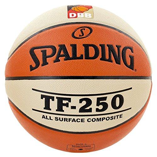 Spalding Basketball TF250 DBB In/out 74-593z, Orange, 6, 3001504010416