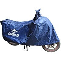 CARMATE Body Cover for Bike & Scooty Two Wheeler Cover (Small Blue)
