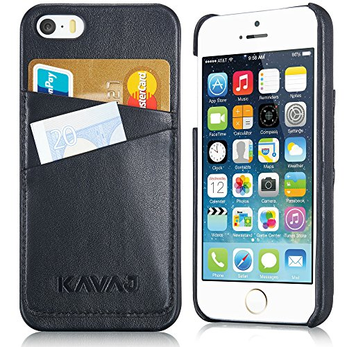 KAVAJ iPhone Case Lederhülle Backcover Tasche