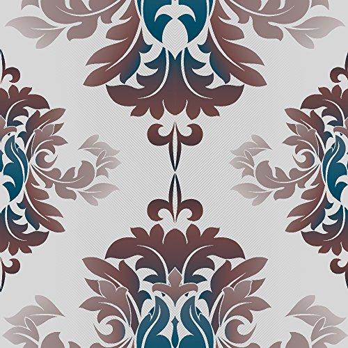 murando - Vlies Tapete - Deko Panel Fototapete - Wandtapete - Wand Deko - 10 m Tapetenrolle - Mustertapete - Wandtapete - modern design - Dekoration - Muster Ornament f-A-0130-j-d