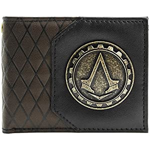 Ubisoft Assassins Creed Syndicate COG Braun Portemonnaie Geldbörse