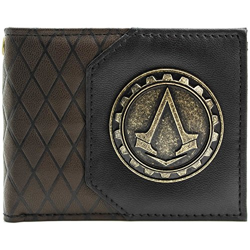 Ubisoft Assassins Creed Syndicate Cog Braun Portemonnaie (Altair Und Kostüm Ezio)
