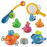 مستلزمات استحمام الاطفال، العاب صيد مائية خالية من العفن لحوض الاستحمام للاطفال الرضع من البنات والاولاد للاستمتاع بوقت استحم