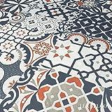 FALQUON Laminat Q012 Pepiso Matt buntes Mosaic Dekor 8mm (1,996m²)