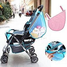 mark8shop Kids Baby Buggy Kinderwagen Spielzeug Windel Net Mesh-Seite Tasche