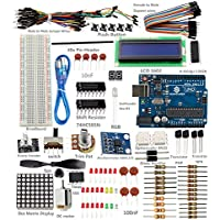 SunFounder New Uno R3 Project Super Starter Kit For Arduino