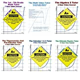 Math And Physics DVD Bundle! - 11 DVDs In 6 Cases! - Save 15%! - Basic Math, Algebra 1 & 2, Trigonometry, Pre-Calculus, Calculus 1 & 2, Physics - 47 Hours Of Tutoring! - Learn By Examples!